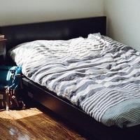 Bett beziehen