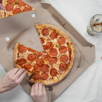 Pizza holen